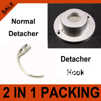 1Pc 4,500gs Normal Security Detacher  and 1Pc Detacher Hook Key Tag Remover EAS System