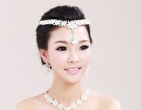 2013 New Bridal Rhinestone Tiara Crown Wedding Hair Accessories Bride Quinceanera Crowns Pageant Hair Jewelry 6 Designs WIGO0009