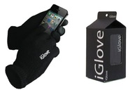 5pairs/lot IGlove Screen gloves with High grade box Unisex Winter for Iphone winter warm glove for women 2colors