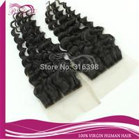 Top Quality Grade 6A Indian Virgin Hair Lace Closure,Middle Part Indian Human Hair Top Closure,Swiss Lace Virgin Hair Closure