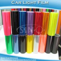 SINO CAR STICKER 0.3x10m Free Shipping Car Headlight Vinyl Film For Car Light Decoration