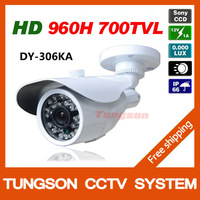 Special Offer Sony 960H Effio-e 700TVL Outdoor Waterproof Video Surveillance White Bullet Night Vision IR Security CCTV Camera