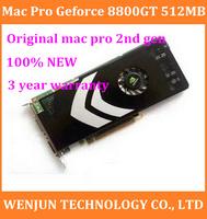 Original 100%NEW  for mac pro 2nd Gen 2008-10 MACPRO GeForce 8800GT 512M Video Graphics Card 3years warranty