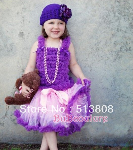 Wholesale of children Tutu Dress, High quality of pink lace top+ baby dress set, Ballet dress free shipping(China (Mainland))