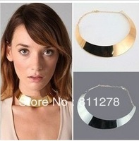 metal necklace 2013 steampunk punk fluorescent chunky exaggerated circle collar Cool feeling strap jewelry necklace collars