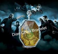 Free shipping a lot 10PCS Harry Potter Horcrux Locket HARRY POTTER NECKLACE  BB10-2