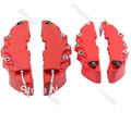 Free Shipping 4pcs/set Front+ Rear Disc Brake Caliper Cover With  Brembo Universal Kit 4 Colors(China (Mainland))