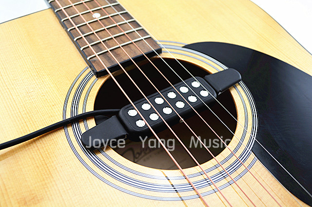 Acoustic Guitar Pick up Wire Amplifier Speaker Pickups Free Shipping Wholesales(China (Mainland))
