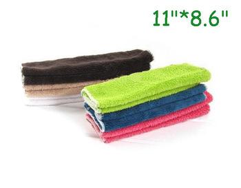 "Wholesale 6pcs/lot Microfiber Dish Towels  11""*8.6""  Blue Yellow Kitchen Towels Magic Dish Cloth"