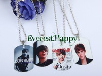 24pcs Justin Bieber Mix JB Charms Link Chains Necklace Super Fashion Gift Party Show New Hot Free Shipping
