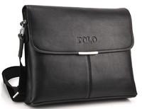 Genuine leather POLO men bag messenger bags shoulder bags for men briefcase 8002