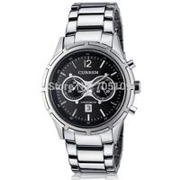 Fashion Casual CURREN 8045 Men Quartz Watch Adjustable Stainless Steel Band with Calendar Men's Dress Sports Watches