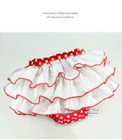 White Ruffle Skirt Magic Cube Tutu PP For Baby Girls Diaper Cover Children Clthes Baby Dresses PT21016-10^^EI
