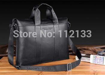 2013 Free Shipping Fashion Leather Mens Bags Men Handbags PU Leather Shoulder Bag Messenger  Business Cross Body Bags