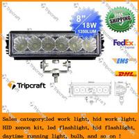 Super bright 18W tractor offroad LED work light,working lamp,Fog light LED Off flood beam CE LED suv boat worklight