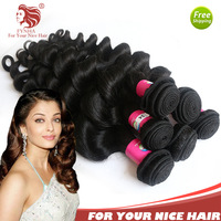 Wholesale Fabulous Bouncy Wave Grade 5A Virgin Hair Malaysian Extensions Weaves 10bundles DHL Free Shipping  queen hair products