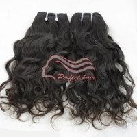 """Peruvian Natural Wave 3pc Lot 12""""-30"""" Peruvian Hair Extension Natural Hair Human Hair Weave Wavy"""