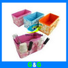 Free shipping Hot selling  Fashion make up cosmetic storage box of desktop storage bags cases 5pcs/lot