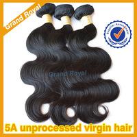 5A unprocessed Cambodian virgin hair weave bundles peruvian virgin hair body wave 3pcs lot human hair extensions Free shipping