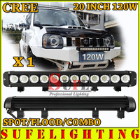 FREE DHL SHIPPING 20 INCH 120W CREE LED LIGHT BAR DRIVING LIGHT COMBO FOR OFFROAD MARINE BOAT CAMPING 4x4 ATV UTV USE 180W 240W