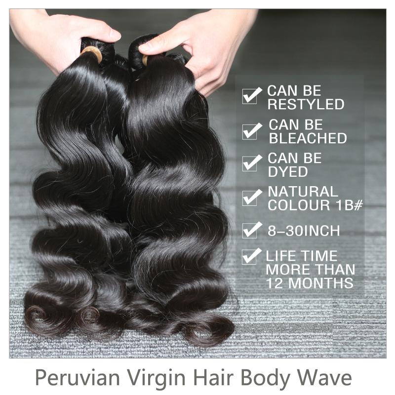 Peruvian Body Wave Hair Weave