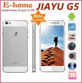 Jiayu G5 Advanced Phone Full Metal Body MTK6589T Quad Core 1.5Ghz Android 4.2 Phone 13MP Camera 3G GPS WIFI 2GB RAM 32GB ROM Hot