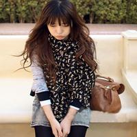 Free Shipping !2014 NEW Style, Fashion Charm Kitten Scarf  Long Chiffon Scarf  Women's Korean Version Silk Scarf,S-025