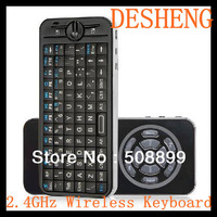 KP-810-16 IPazzPort Fly/Air Mouse 2.4GHz Mini Wireless Keyboard with 2 Mode Learning IR Remote Black Free Shipping