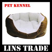 Free shipping New cat dog kennel pet house warm sponge bed cushion basket #1002