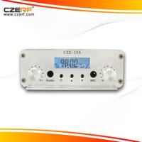 Free Shipping CZE-15A 15W Stereo Audio Wireless 3.5mm Car FM Transmitter