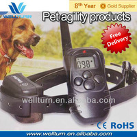 2014 NeW shock remote training dog collar rechargeable waterproof sale of pet products Free shipping