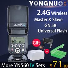 YONGNUO yn560 iv 2.4g wireless Blitz Speedlite für Canon 6d 7d 60d 70d 5d2 5d3 700d 650d, yn-560 iv für nikon d750 d800 d610 d90(China (Mainland))