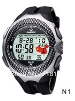 HighQuality PASNEW Digital Water-proof CN Wavecepter Sport Watch Radio watch PSE-505