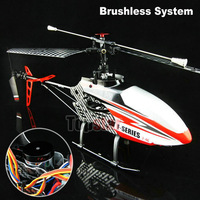 Free Shipping 2.4G 4CH  RC Helicopter MJX F45 F645 with New Brushless Motor System (All assembled)