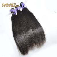 DHL fast shipping 100% human hair weave 12-30inches natural Straight Brazilian virgin hair Extensions wholesale price