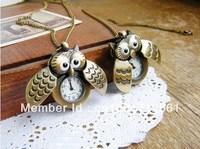 Fashion jewelry vintage Pocket  necklace pocket watch free shipping