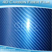 SINO CAR STICKER 1.52x30M 5FTx98FT Free Shipping 4D Carbon Fiber Vinyl For Car Body Modification/4D Carbon Fiber Sticker