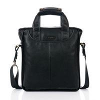 2013 Original Good bag makeup Free shipping Discount cheap name brand polo handbags genuine leather Danjue mens bag new D179-3