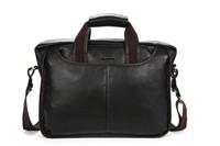 Genuine Leather Mens briefcase Men business dress bags men's leather bag Danjue D179-5