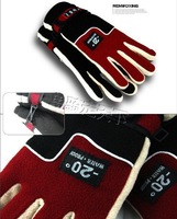 wholesale ski gloves Snow Gloves Winter Motorcycle Cycling Ski Snowboarding Glove Black Outdoor Free Shipping