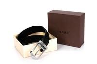 Free shipping 2013 Belt The riveting Buckle Belt Man belt Danjue brand MB5