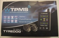 Real Free Shipping and Wireless TPMS!Tyredog TPMS TD1400AX 04!Nice Display!TFT COLOR!avoid tire burst!give alarm in advance!