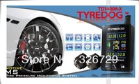Real Free Shipping and Wireless TPMS!Tyredog TPMS TD1400 AX 04!support 4 wheel!avoid tire burst!give alarm in advance!