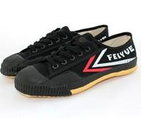 Free Shipping Chinese Kung Fu Fei Yue Sneakers Tai Chi Wing Chun Bruce Lee Shoes  Shao Lin Monk Martial Arts Footwear