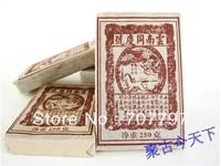 "2001 yunnan puer brick tea in one hundred""old celebration"" ripe pu-erh freeshipping"