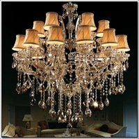 Cognac Large Crystal Chandelier Pendelleuchte  Lighting Fixture Crystal Lamp Luster Chandelier Light