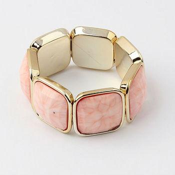 Min.order $10(mix) fashion stone stripe stretch bracelet jewelry wholesale bracelets for women