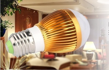 Big sale! Ultra bright LED bulb 3W E27 110V/220V White light LED lamp 50pcs/lot