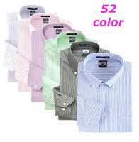 Men   Autumn Business dress shirts   Brand slim Fit  long  sleeve Oxford stripes  shirt   cmaisa  CNJF005-95  S M L XL XXL XXXL