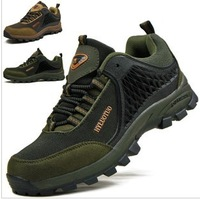 2014 new guaranteed 100% Camel male boots shoe breathable summer man sport hiking shoes men casual sneakers